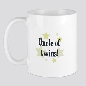 Uncle of twins! Mug