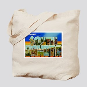 Greetings from South Dakota Tote Bag