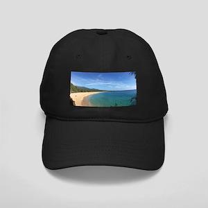 Maui Beach Black Cap with Patch