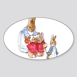 Beatrix Potter - Peter Rabbit : Mrs. Rabbi Sticker