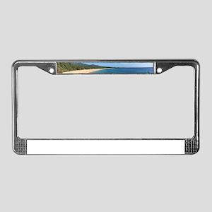 Maui Beach License Plate Frame