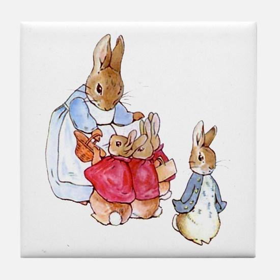 Beatrix Potter - Peter Rabbit : Mrs. Tile Coaster