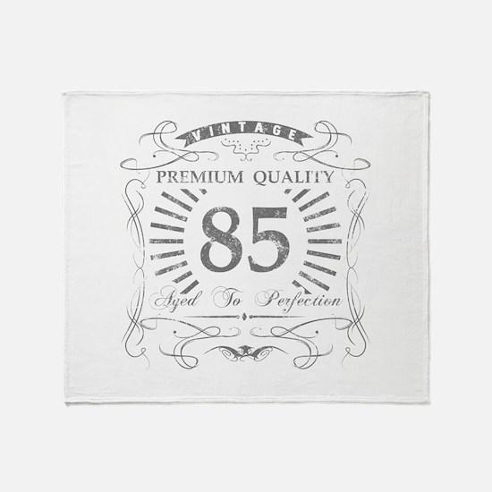 85th Birthday Gag Gift Throw Blanket