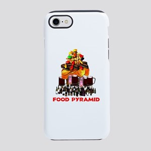 Party animal Food Pyramid iPhone 8/7 Tough Case