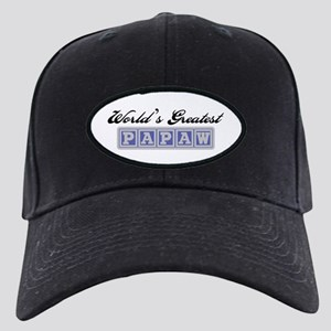 World's Greatest Papaw Black Cap