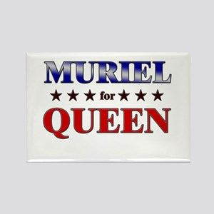 MURIEL for queen Rectangle Magnet
