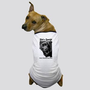 Adopt a Big Black Dog Dog T-Shirt