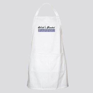 World's Greatest Pappou BBQ Apron