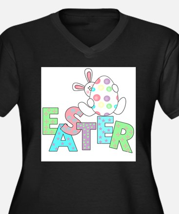 Bunny With Easter Egg Plus Size T-Shirt