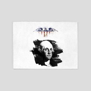George Washington 5'x7'Area Rug