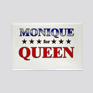 MONIQUE for queen Rectangle Magnet