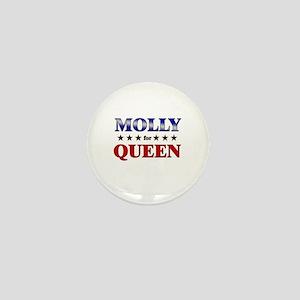 MOLLY for queen Mini Button
