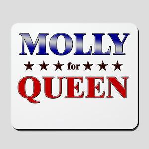 MOLLY for queen Mousepad