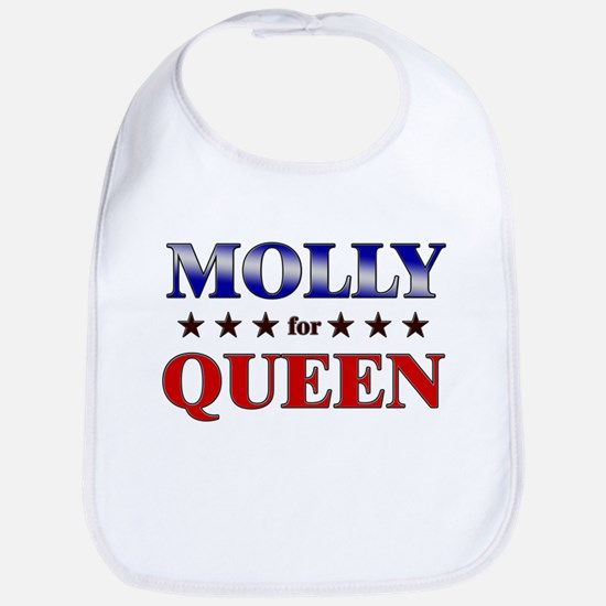 MOLLY for queen Bib