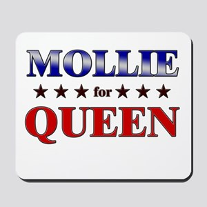 MOLLIE for queen Mousepad