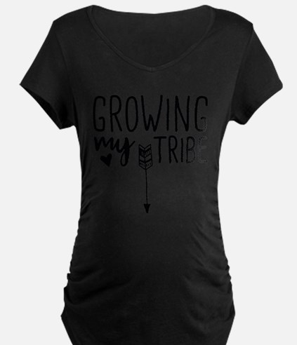 Growing My Tribe Maternity T-Shirt