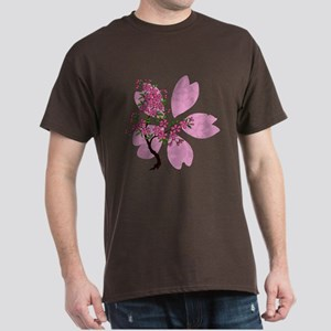 Cherry Blossom Tree Dark T-Shirt