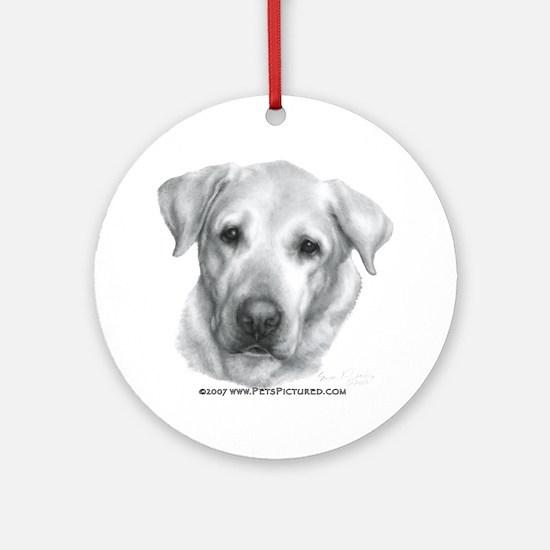 Alex, Labrador Retriever Ornament (Round)