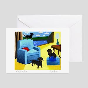 Wieners Greeting Card