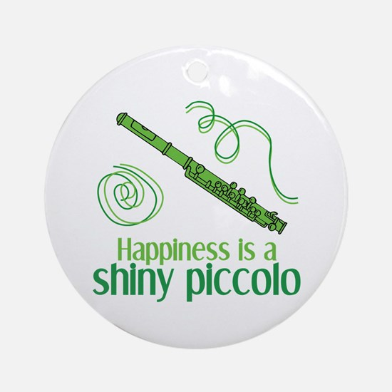 Shiny Piccolo Ornament (Round)