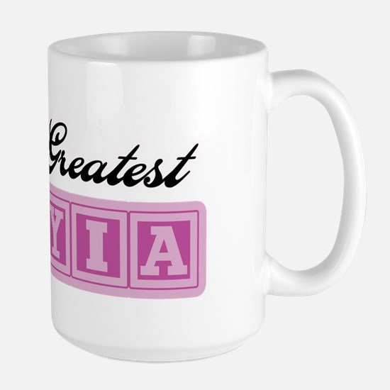 World's Greatest YiaYia Large Mug