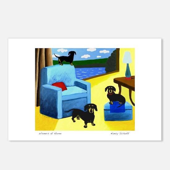 Wieners Postcards (Package of 8)