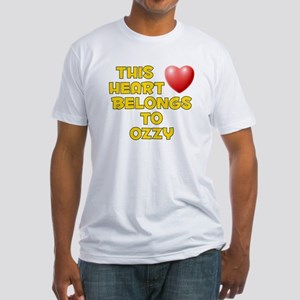 This Heart: Ozzy (D) Fitted T-Shirt