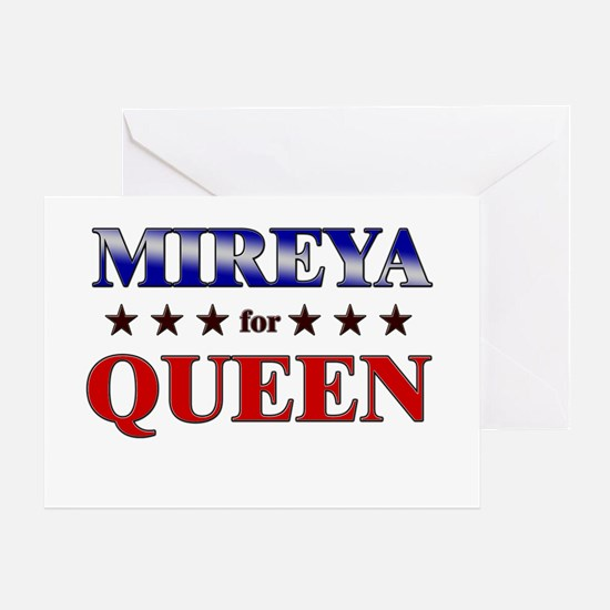 MIREYA for queen Greeting Card