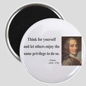 Voltaire 12 Magnet