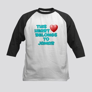 This Heart: Jamar (E) Kids Baseball Jersey