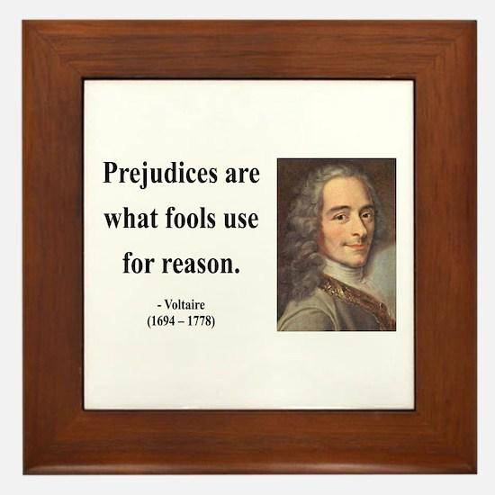 Voltaire 15 Framed Tile