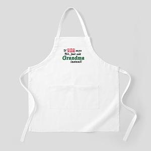 Just Ask Grandma! BBQ Apron