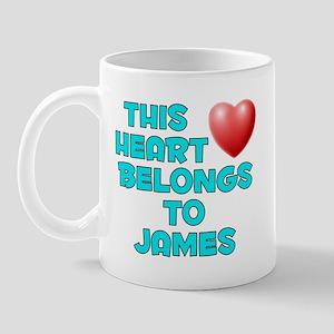 This Heart: James (E) Mug