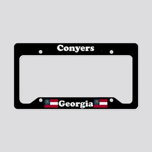 Conyers, GA License Plate Holder