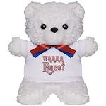 Wanna Race? Teddy Bear