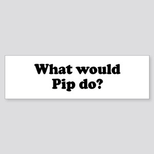 Pip Bumper Sticker