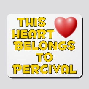 This Heart: Percival (D) Mousepad