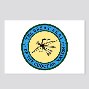 Great Seal of the Choctaw Postcards (Package of 8)