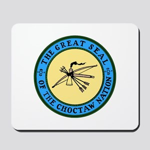 Great Seal of the Choctaw Mousepad