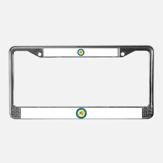 Great Seal of the Choctaw License Plate Frame