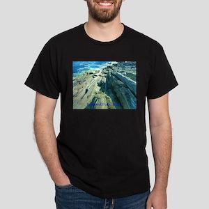 Pemaquid Point (caption) Dark T-Shirt