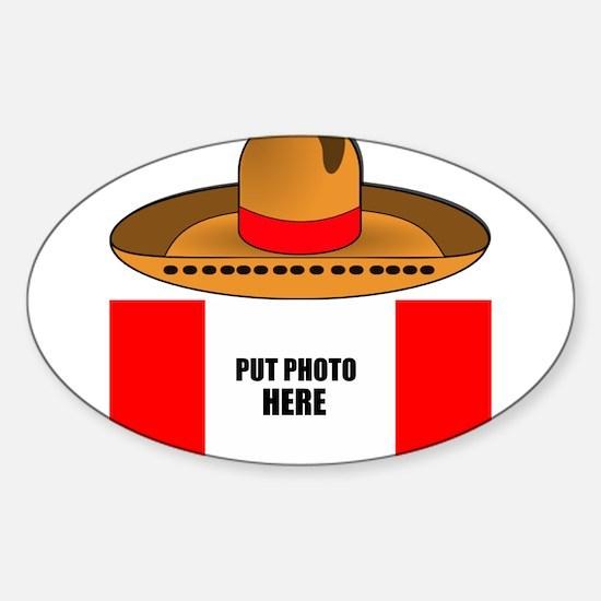 Sombrero Cinco De Mayo Decal