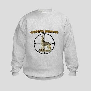 COYOTE HUNTER Kids Sweatshirt