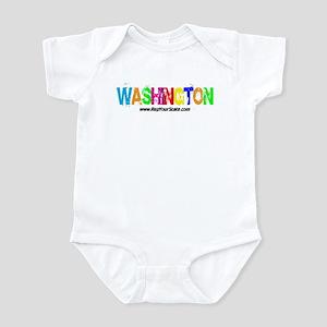 Colorful Washington Infant Bodysuit