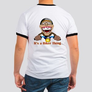It's a biker thing Ringer T(Back print)