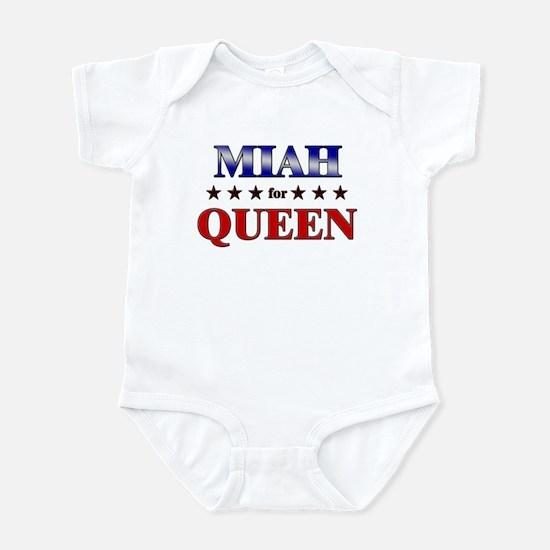 MIAH for queen Infant Bodysuit