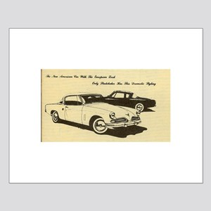 Two '53 Studebakers on Small Poster