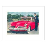 Red Studebaker on Small Poster