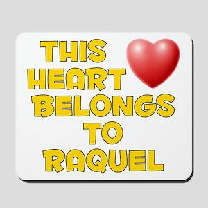 This Heart: Raquel (D) Mousepad