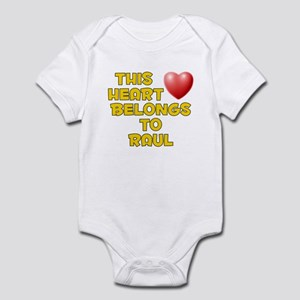 This Heart: Raul (D) Infant Bodysuit